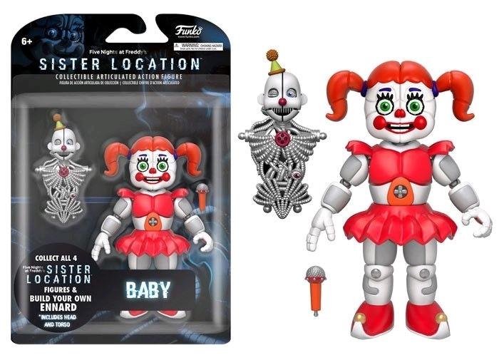 Five Nights at Freddy's Sister Location Фигурка Бейби (Baby)