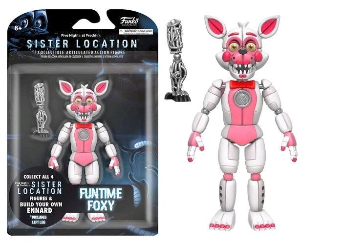 Five Nights at Freddy's Sister Location Фигурка Фантайм Фокси (Funtime Foxy)