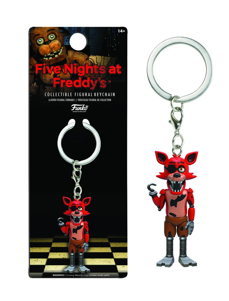Five Nights at Freddy's - Брелок Фокси