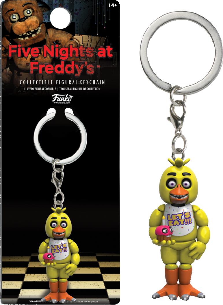Five Nights at Freddy's - Брелок Чика
