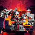 21163 Lego Minecraft Битва за красную пыль, Лего Майнкрафт, фото 5