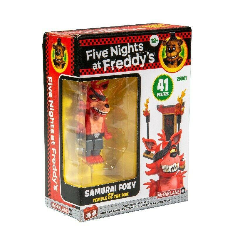 Five Nights at Freddy's Конструктор Минифигурка Самурай Фокси, 41 деталь