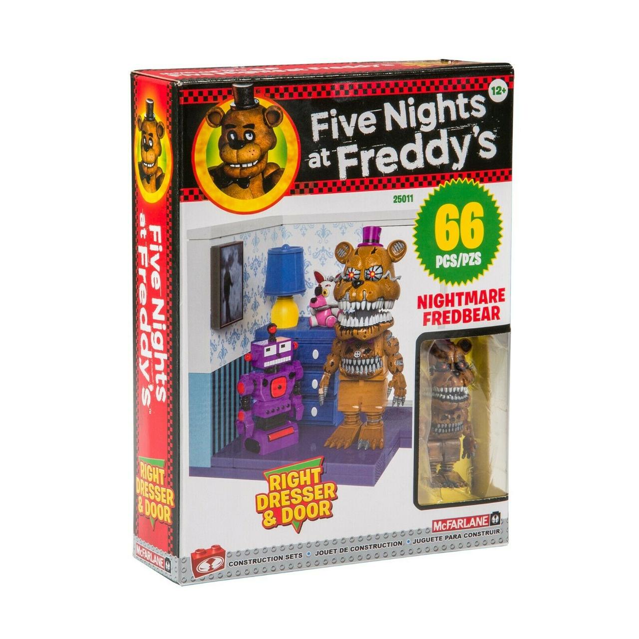 """Five Nights at Freddy's Конструктор """"Правый комод и дверь"""" 66 детали"""