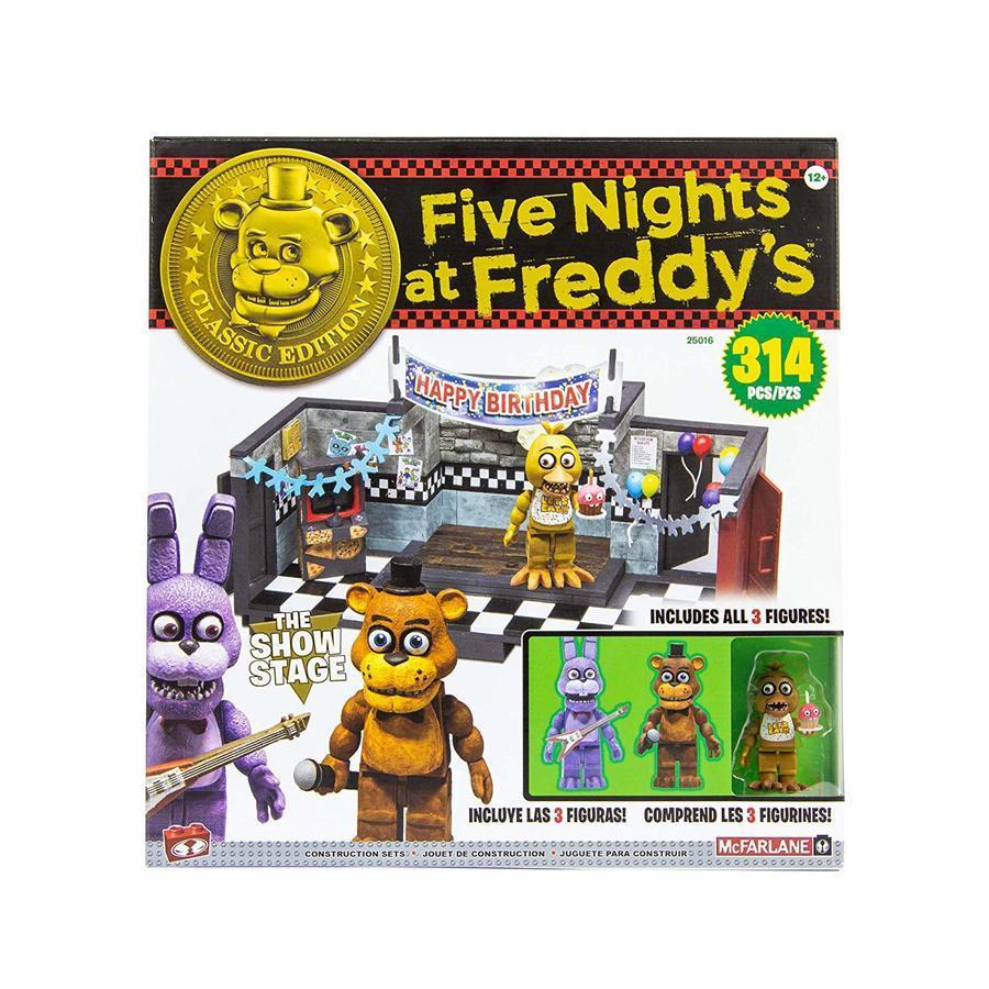 "Five Nights at Freddy's Конструктор ""Сцена"" 314 деталей"