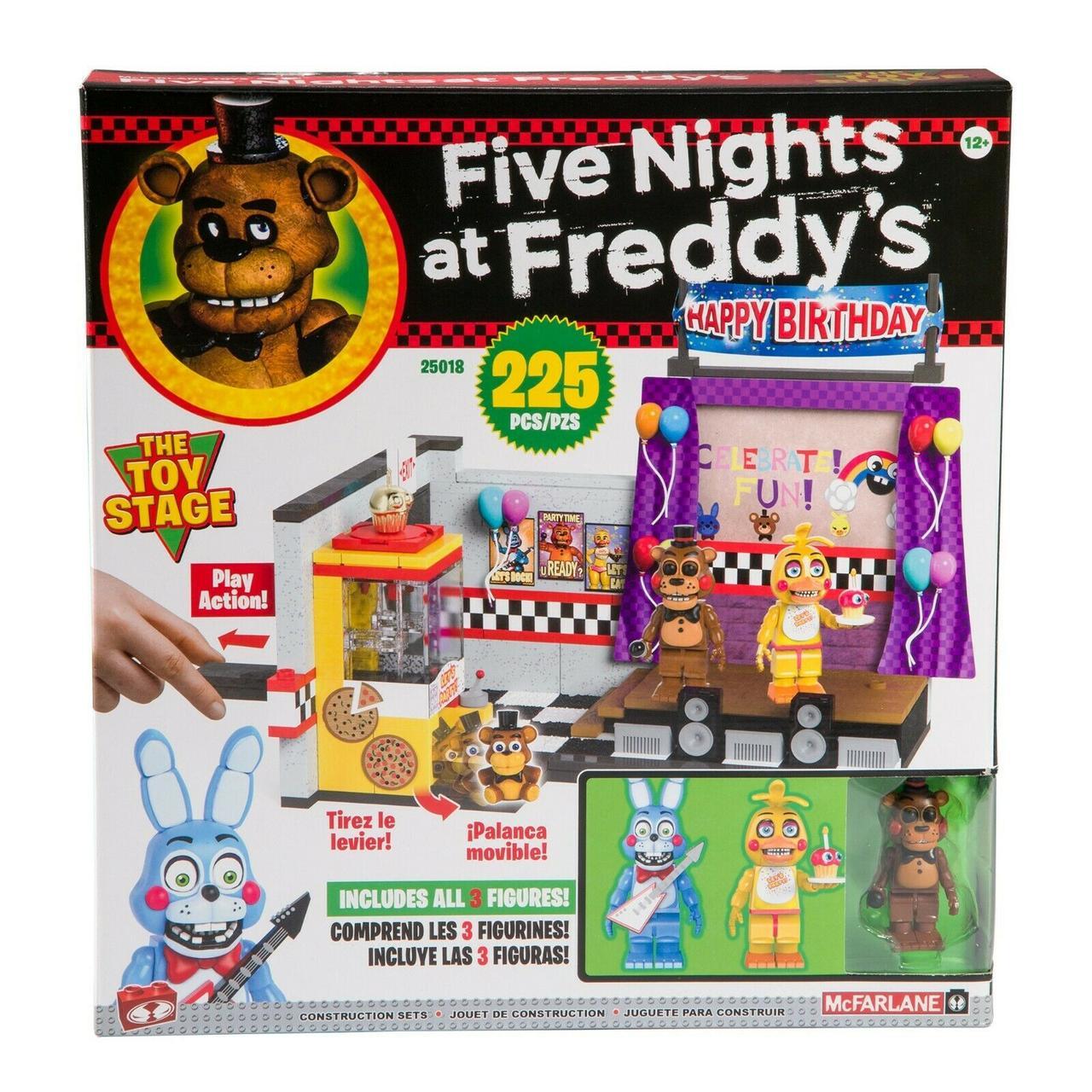 "Five Nights at Freddy's Конструктор ""Игрушечная сцена"", 225 деталей"