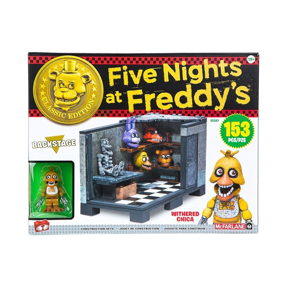 "Five Nights at Freddy's Конструктор ""За кулисы"" 153 детали"