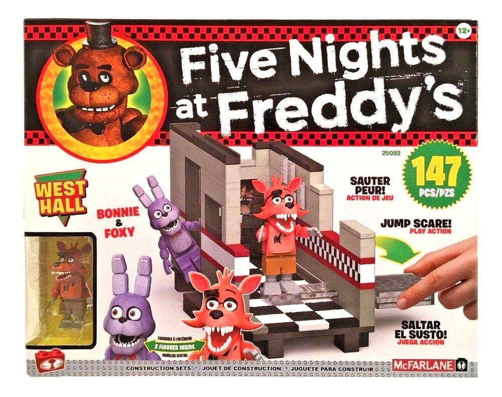 "Five Nights at Freddy's Конструктор ""Западный зал"" 147 деталей"