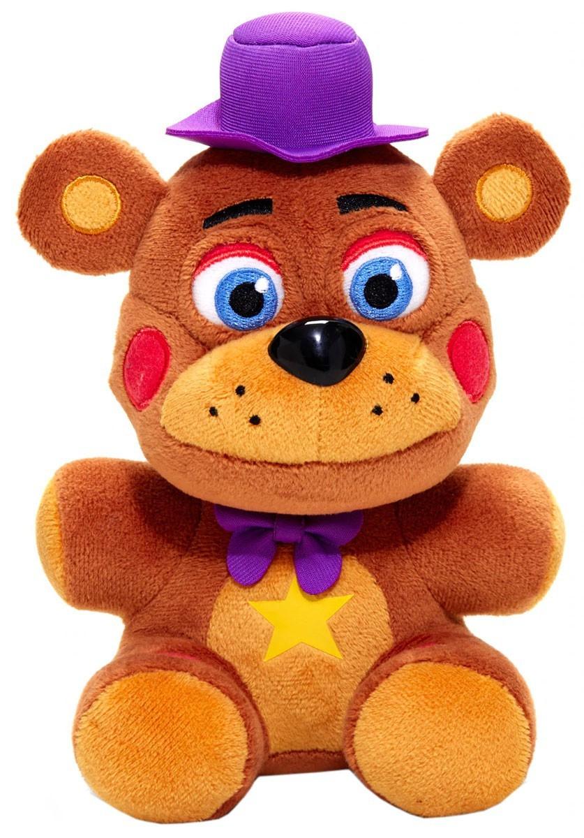 Five Nights at Freddy's Мягкая игрушка Фигурка Рок-звезда Фредди, 19 см.