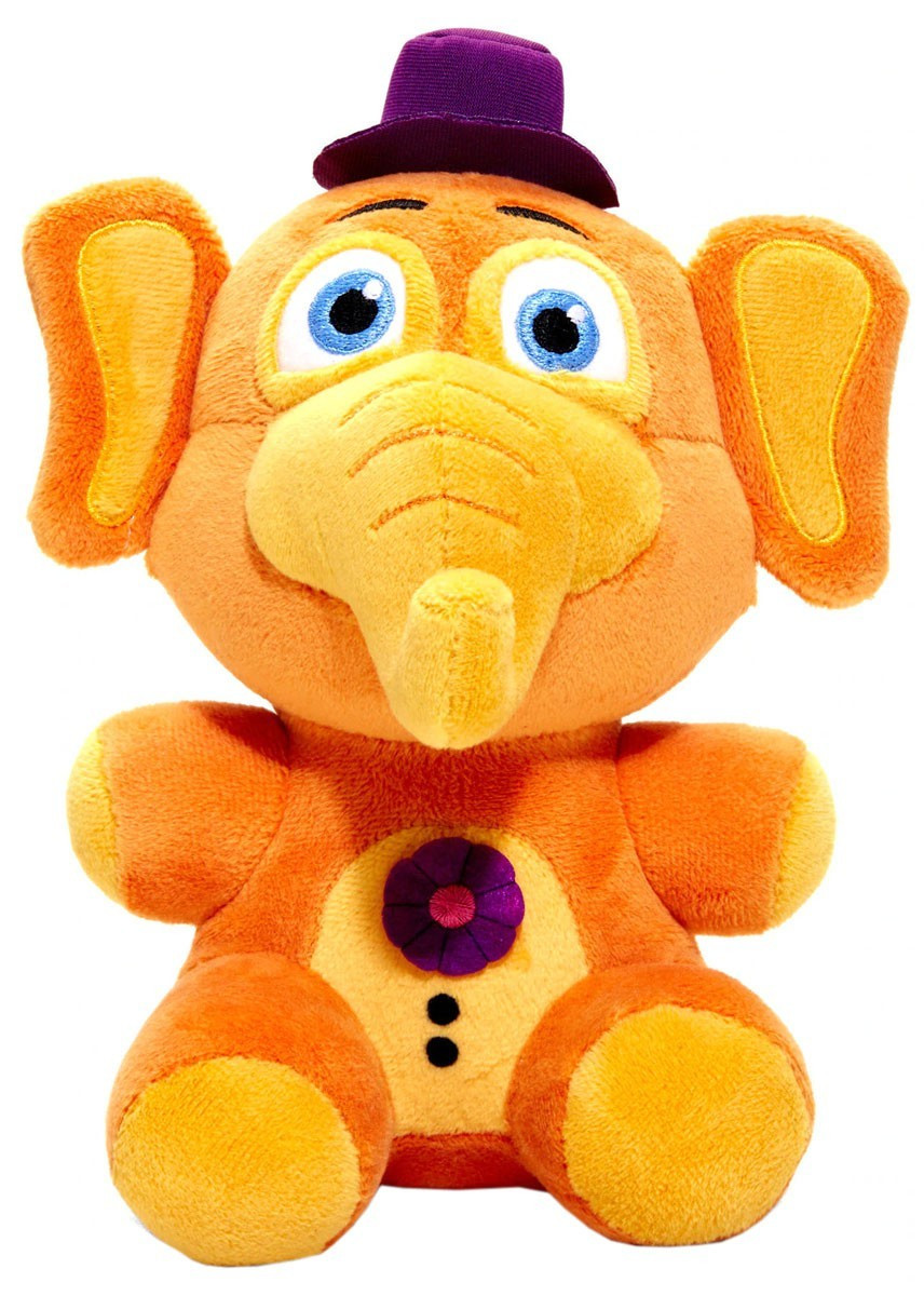 Five Nights at Freddy's Мягкая игрушка Фигурка Слон Орвилл, 19 см.