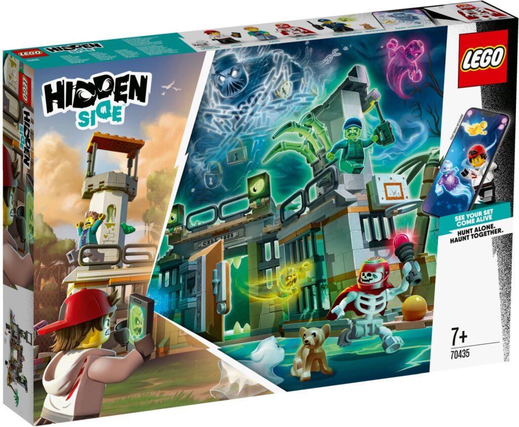 70435 Lego Hidden Side Заброшенная тюрьма Ньюберри, Лего Хидден Сайд