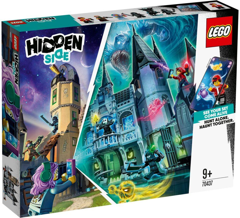 70437 Lego Hidden Side Заколдованный замок, Лего Хидден Сайд