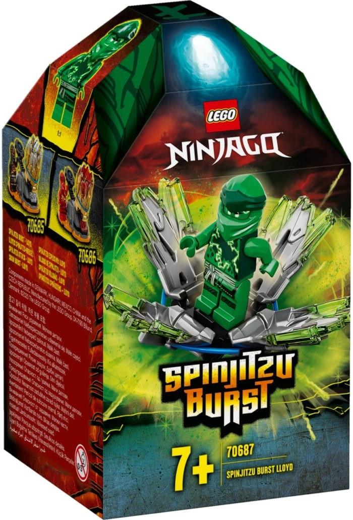 70687 Lego Ninjago Шквал Кружитцу — Ллойд, Лего Ниндзяго