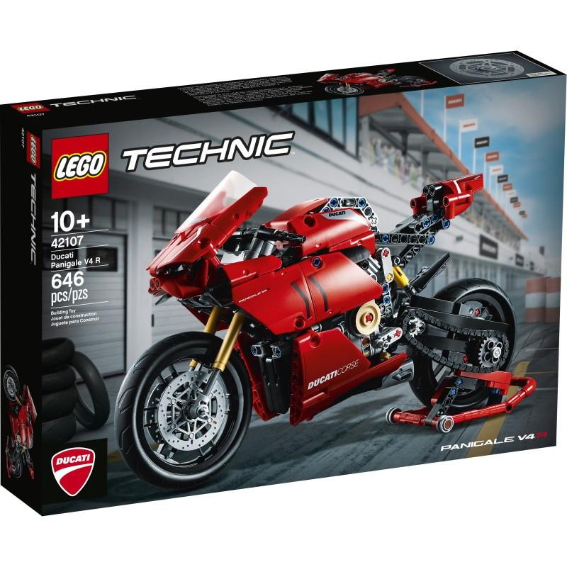 42107 Lego Technic Ducati Panigale V4 R, Лего Техник
