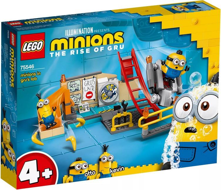 75546 Lego Minions Миньоны в лаборатории Грю, Лего Миньоны