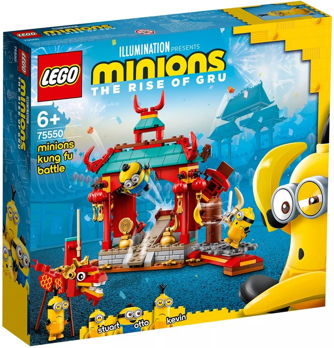 75550 Lego Minions Миньоны: бойцы кунг-фу, Лего Миньоны