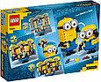 75551 Lego Minions Фигурки миньонов и их дом, Лего Миньоны, фото 2