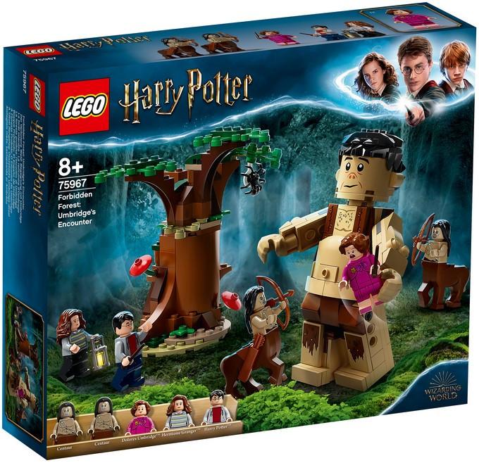 75967 Lego Harry Potter Запретный лес: Грохх и Долорес Амбридж, Лего Гарри Поттер