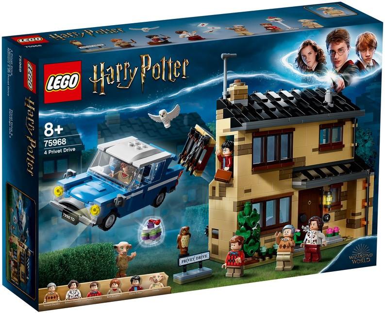 75968 Lego Harry Potter Тисовая улица, дом 4, Лего Гарри Поттер
