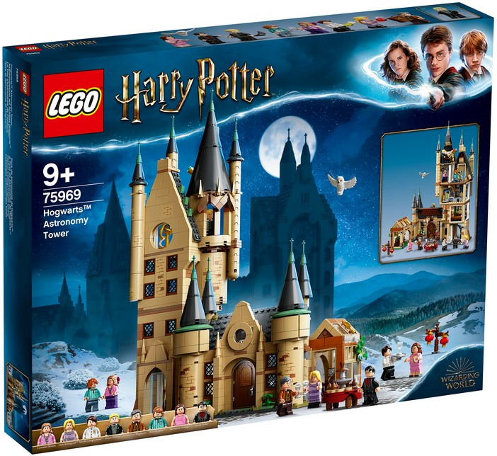 75969 Lego Harry Potter Астрономическая башня Хогвартса, Лего Гарри Поттер