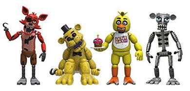 Five Nights at Freddy's Набор из 4 виниловых фигурок (Set 1)