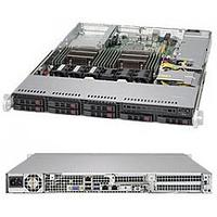 "Supermicro 1U Rackmount chassis, support for motherboard size: 12"" x 13"" E-ATX and 13.68"" x 13"", 8 x 2.5"""
