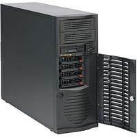 """Supermicro Chassis SC733TQ-668B, Mid Tower, 4x 3.5"""" SAS/SATA Backplane for Hot-Swappable Drives, 2x 5.25"""""""