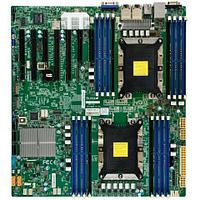 Серверная материнская плата SuperMicro MBD X11DPH T O ATX Intel C624 Chipset Dual Socket P (LGA 3647) for