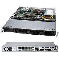 Supermicro SuperServer SYS-6019P-MT 1U, 4 Hot-swap 3.5'' drive bays w/ 2 Xeon Scalable Processors support,