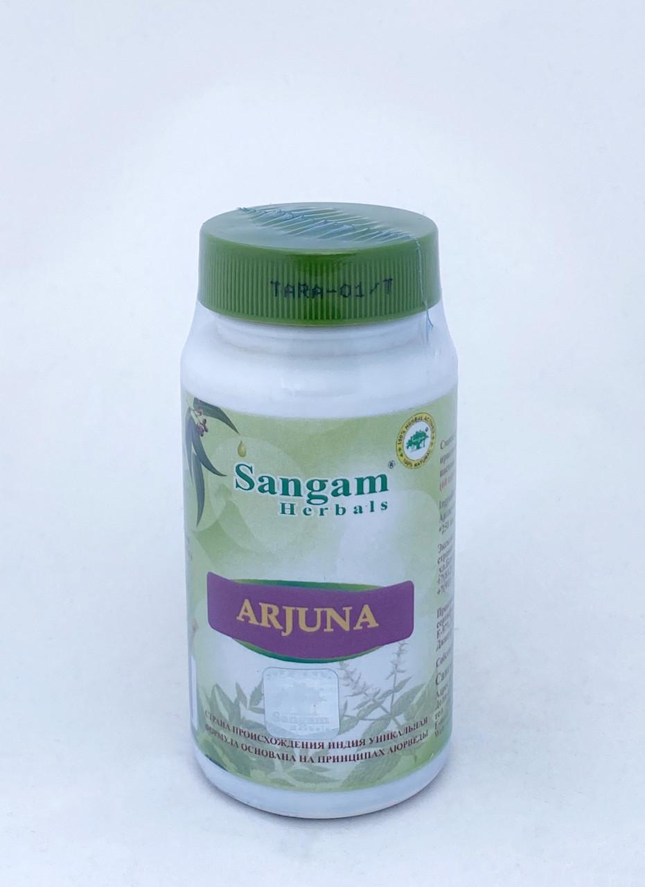 Арджуна, 60 таблеток, Sangam Herbals,Arjuna