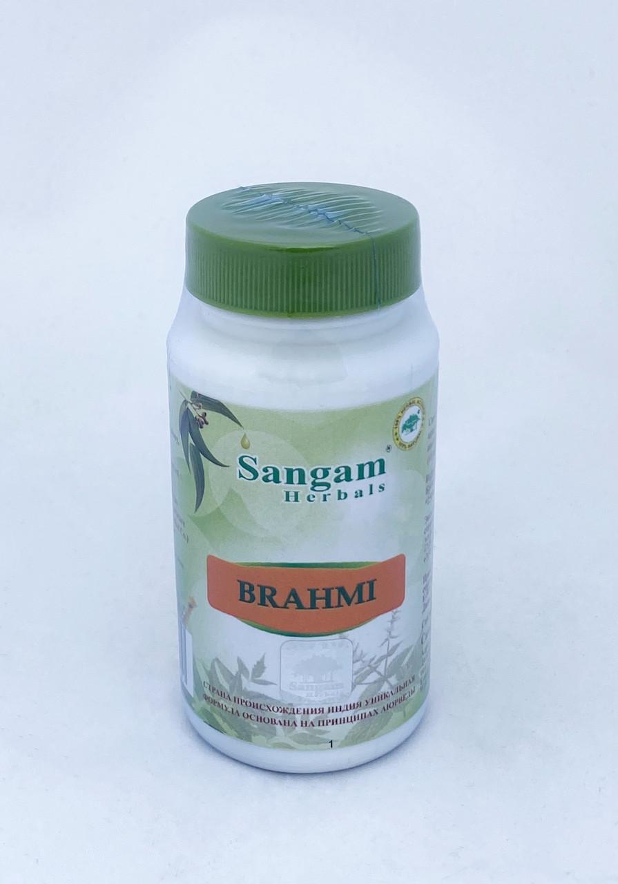 Брахми, 60 таблеток, Sangam Herbals, Brahmi