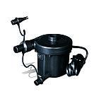Насос электрический BESTWAY Sidewinder AC Air Pump 62056 (220В, 3 насадки, Black)