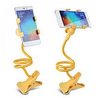 Держатель-прищепка гибкий для телефонов и мини планшетов