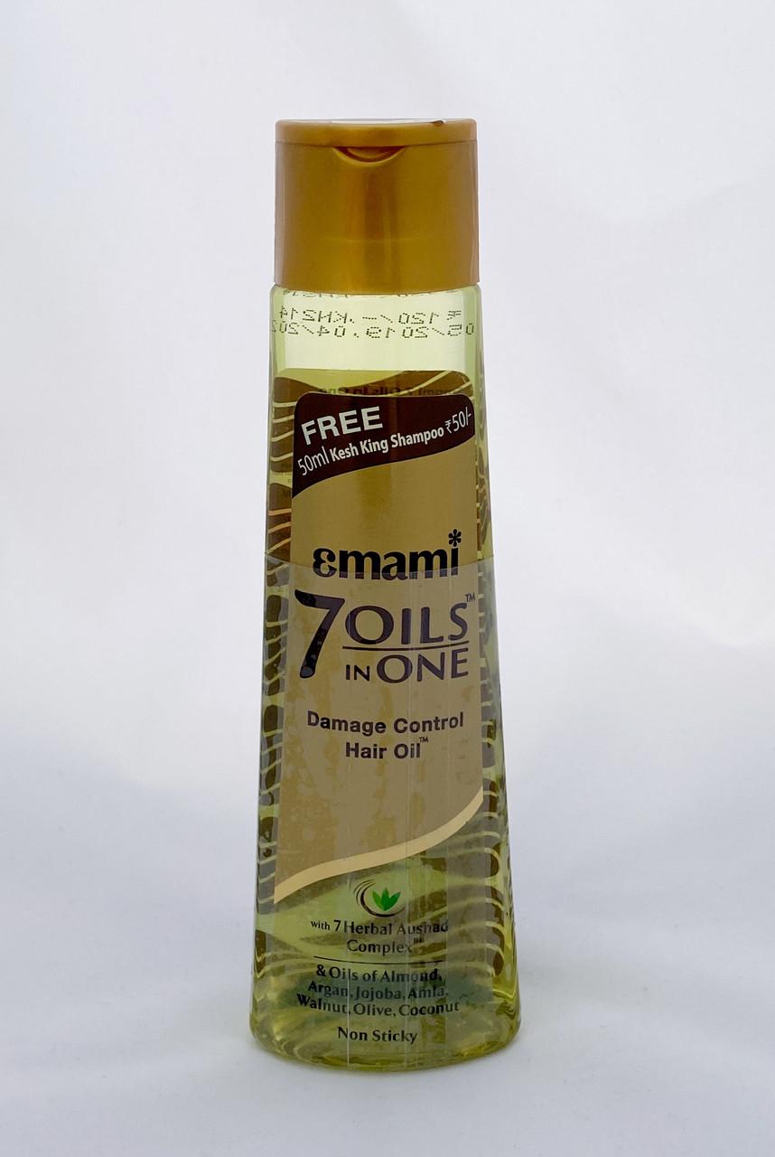 """Масло для волос """"Семь в одном"""" (7 oils in one) 100 мл, Emami"""