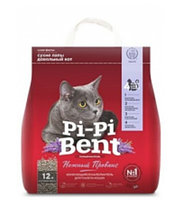 """Pi-Pi-Bent """"Нежный Прованс"""". Комкующий наполнитель для лотка"""