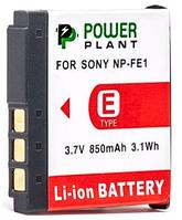 Aккумулятор для Sony NP-FE1 (PowerPlant) 850mAh, фото 1