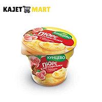 Картофельное пюре со вкусом бекона и гренками, 40гр (стакан)