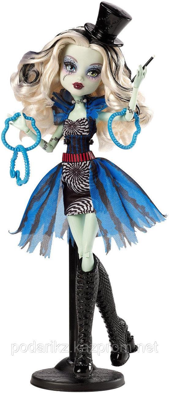 Кукла Монстр Хай Фрэнки Штейн, Monster High Freak du Chic - Frankie Stein - фото 2