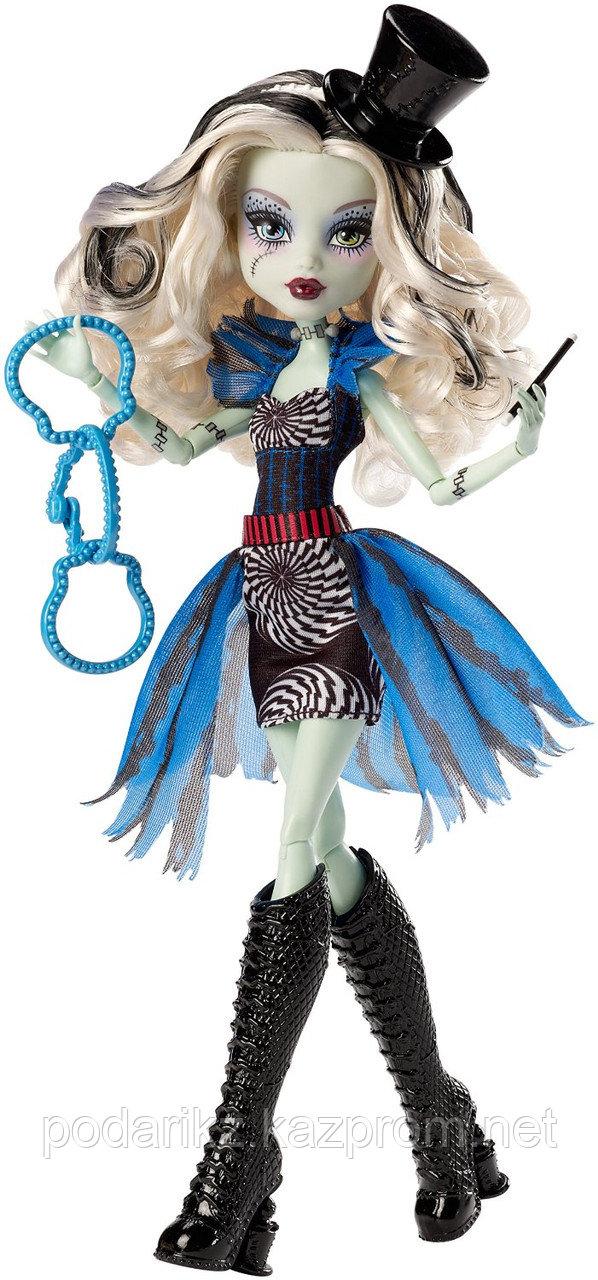 Кукла Монстр Хай Фрэнки Штейн, Monster High Freak du Chic - Frankie Stein - фото 3