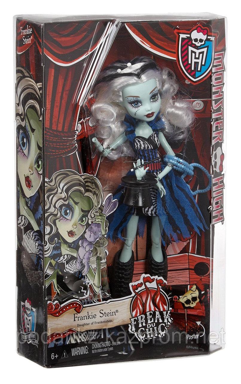 Кукла Монстр Хай Фрэнки Штейн, Monster High Freak du Chic - Frankie Stein - фото 4