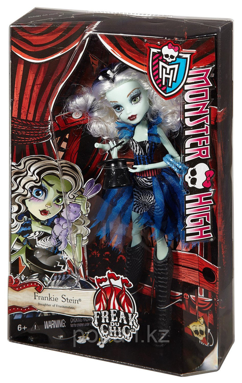 Кукла Монстр Хай Фрэнки Штейн, Monster High Freak du Chic - Frankie Stein - фото 6