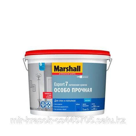 Краска Marshall EXPORT 7 матовая латексная BW 9л
