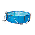 Каркасный бассейн Steel Pro MAX, BESTWAY Steel Pro MAX 457 х 122 см 56438, Ф-насос (3028л/ч), Лестница