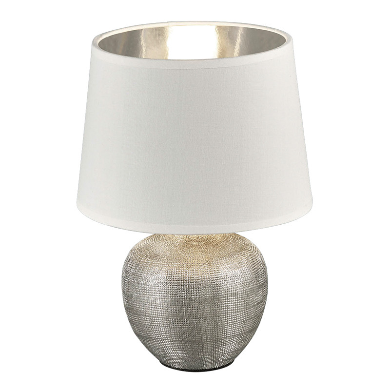 Лампа настольная LUXOR серебро excl 1*E14 max.40W R50621089