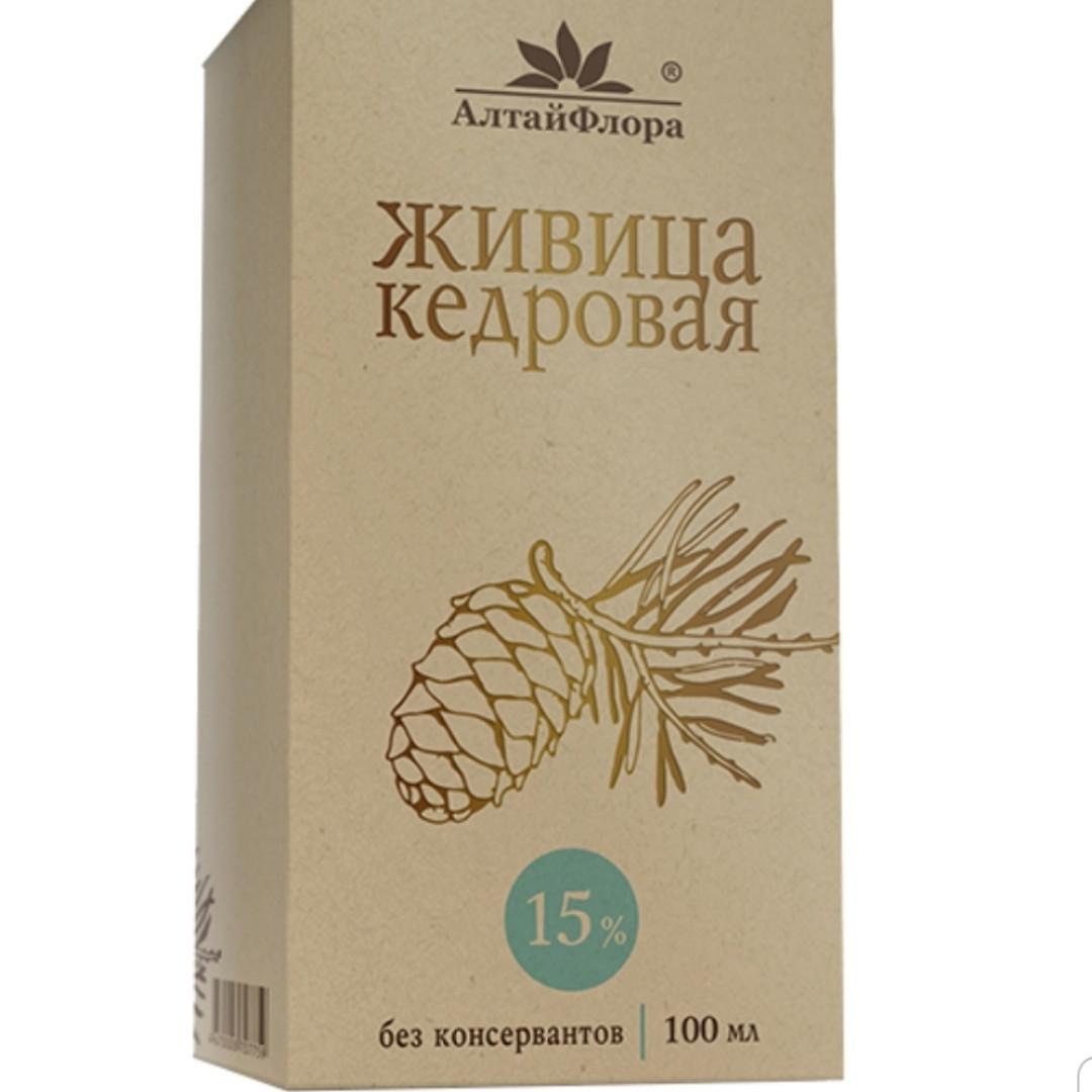 Живица кедровая 15 % с кедровым маслом