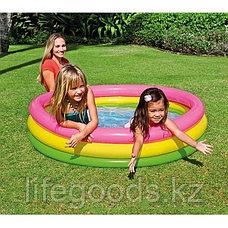"""Детский надувной бассейн """"Радуга"""" 147х33 см, Intex 57422, фото 3"""