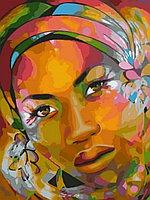 "Картина по номерам ""Арт-портрет африканки"", 40х50 см"