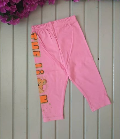 Бриджи для девочек, светло-розовые