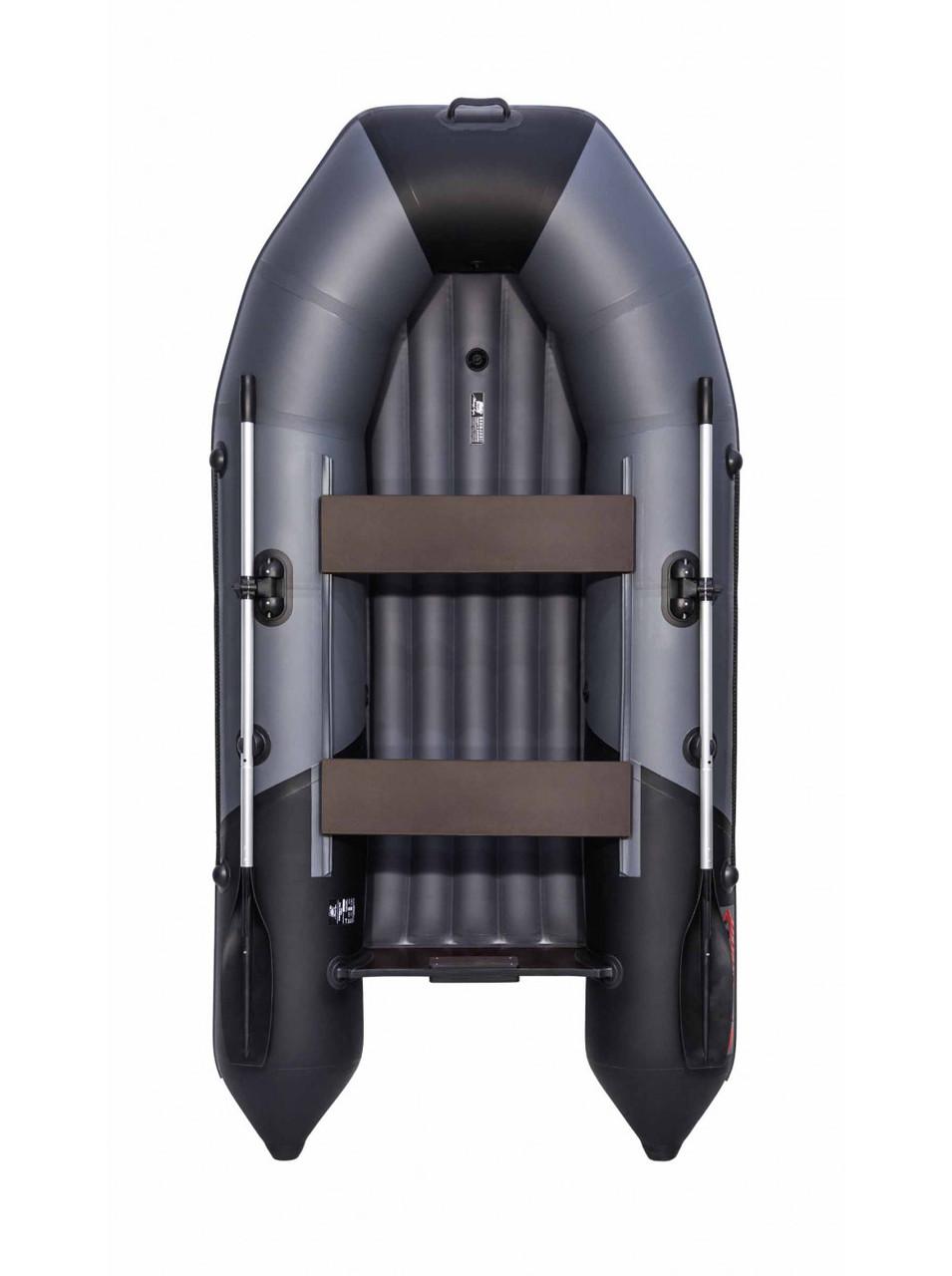 Лодка Таймень NX 2800 НДНД графит/черный