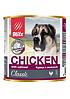 Влажный корм для собак всех пород и возрастов Blitz Chicken&Oatmeal с курицей и овсянкой