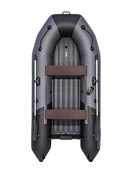 Лодка Таймень NX 2900 НДНД графит/черный